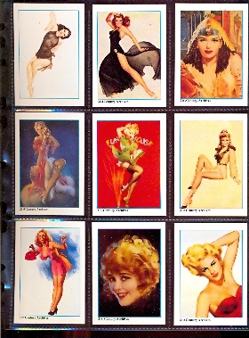 Card Set - Pin-Up