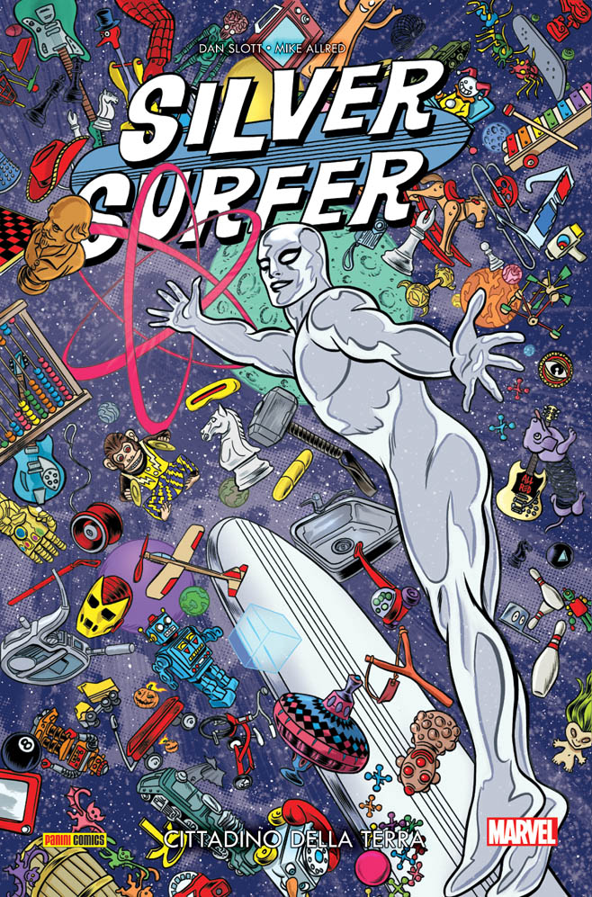 Silver Surfer Volume 1 Cittadino Della Terra Marvel Collection