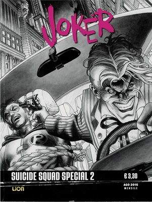 DC Black & White Special 2: Suicide Squad Movie 2 JOKER