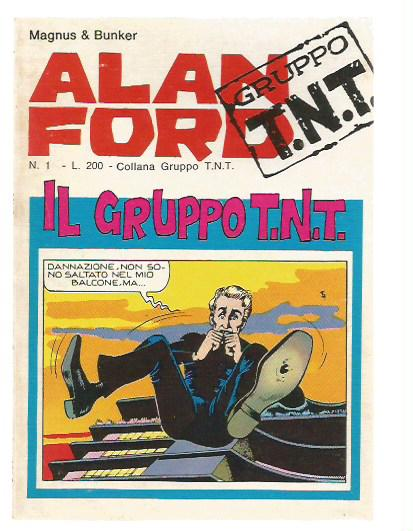 Alan Ford Gruppo T.N.T.n.  1/10 - Il gruppo TNT - SEQUENZA