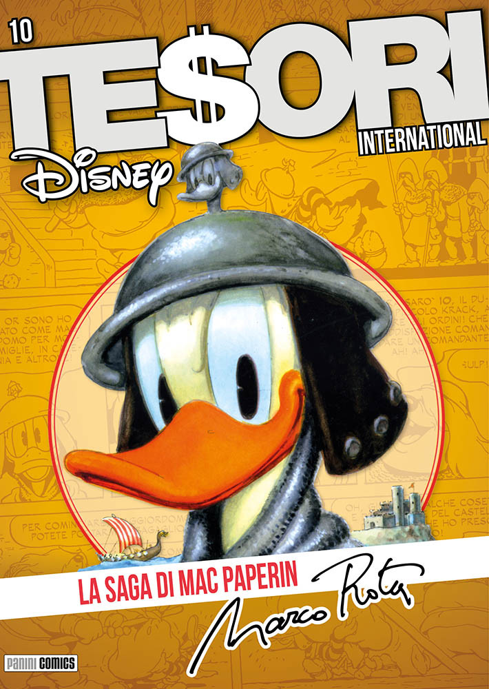 Tesori International 10 Paperino Mac Paperin