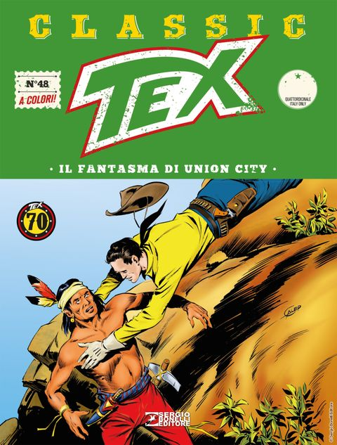Tex Classic 48 Il Fantasma Di Union City