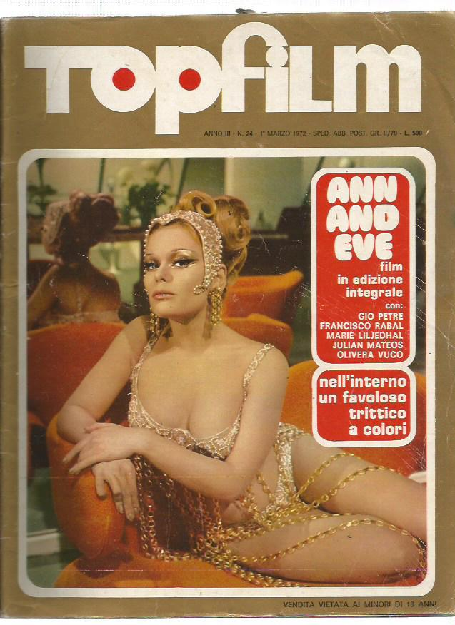 Top Film  n. 24 -1972 - Ann and Eve - Sophie
