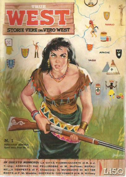 True West - Storie vere del vero west n.  1 - 1958