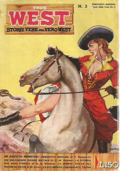 True West - Storie vere del vero west n.  3 - 1958