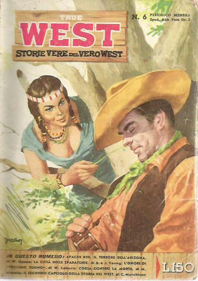 True West - Storie vere del vero west n.  6 - 1958