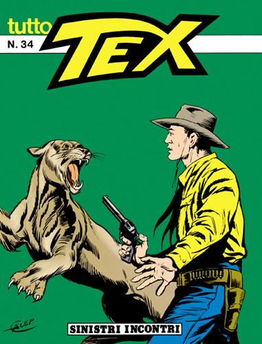 Tutto Tex n. 34 - Sinistri incontri