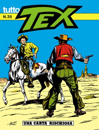 Tutto Tex n. 35 - Una carta rischiosa
