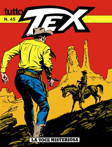Tutto Tex n. 45 - La voce misteriosa