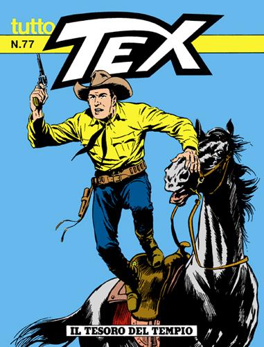 Tutto Tex n. 77 - Il tesoro del tempio