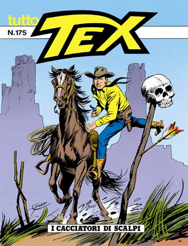 Tutto Tex n.175 - I cacciatori di scalpi
