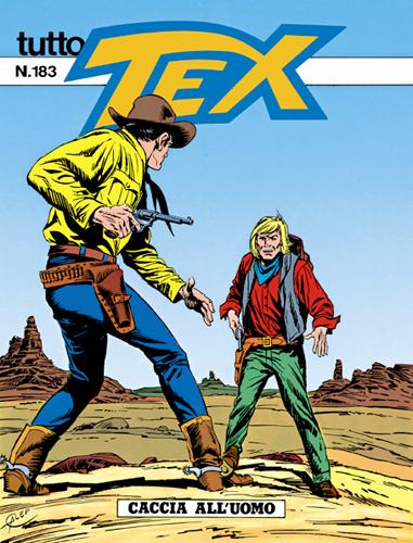 Tutto Tex n.183 - Caccia all'uomo