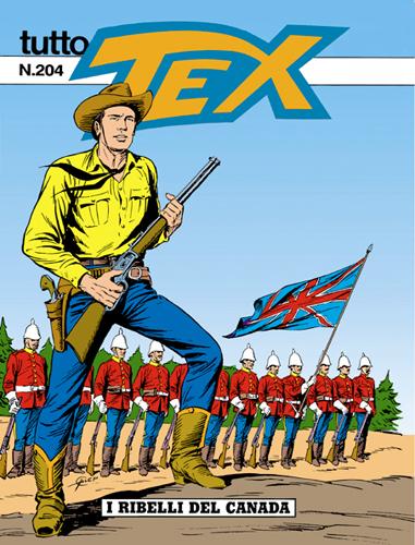 Tutto Tex n.204 - I ribelli del Canada