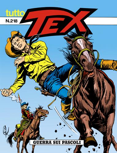 Tutto Tex n.218 - Guerra sui pascoli