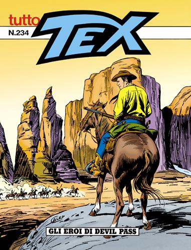 Tutto Tex n.234 - Gli eroi di Devil Pass