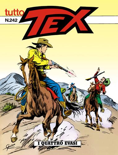 Tutto Tex n.242 - I quattro evasi