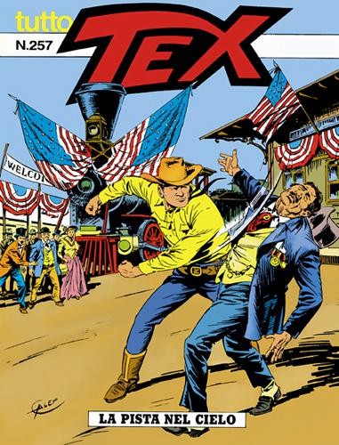 Tutto Tex n.257 - La pista del cielo