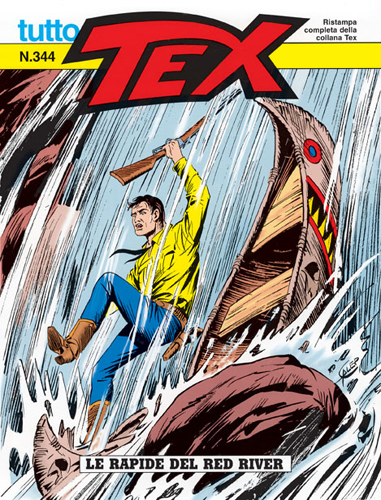 Tutto Tex n.344 - Le rapide del Red River