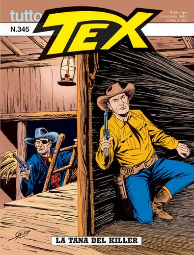 Tutto Tex n.345 - La tana dei killer