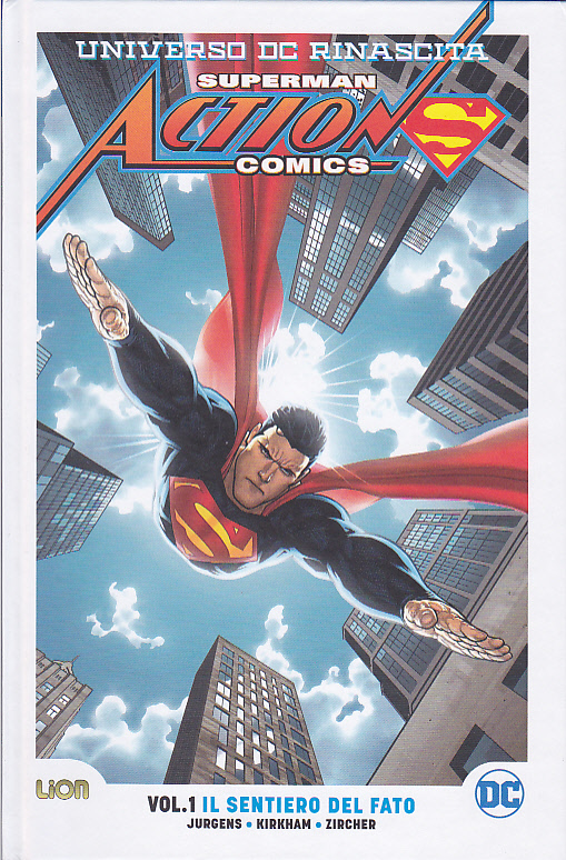 Rebirth Ultralimited Action Comics 1 Sentiero del fato