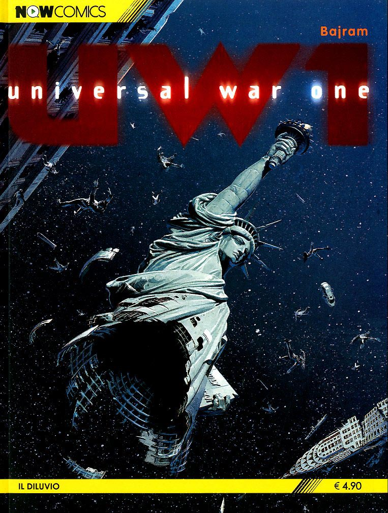 Now Comics Universal War One 4 Di 6