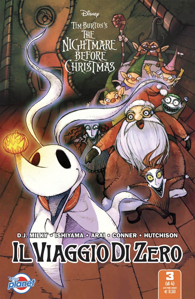 The Nightmare Before Christmas Il Viaggio di Zero 3