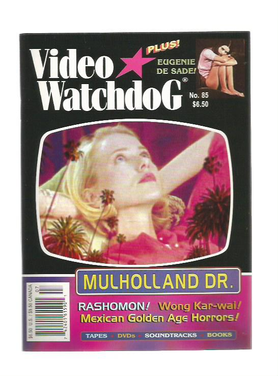 Video Watchdog n.85 - 2002