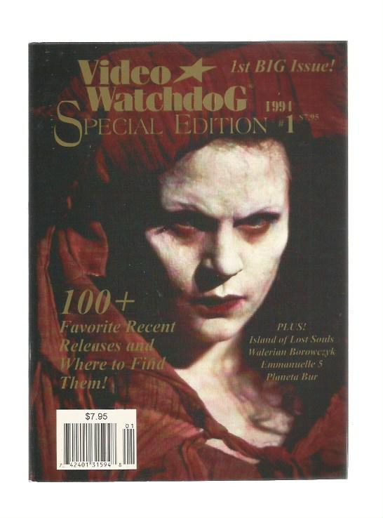 Video Watchdog Special Edition n.1 - 1994