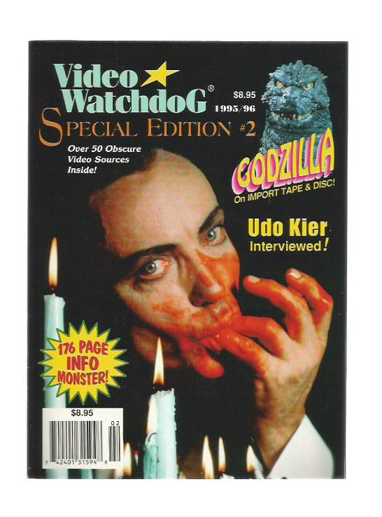 Video Watchdog Special Edition n.2 - 1995/96