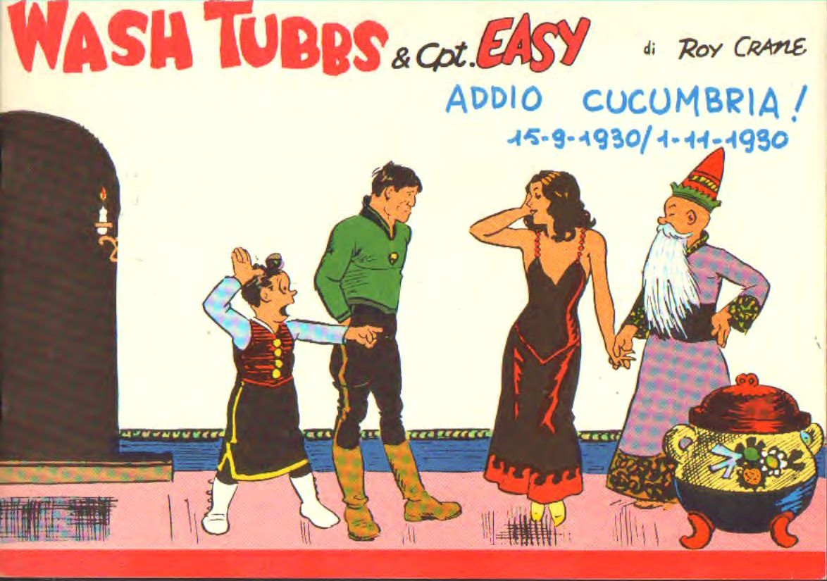 Wash Tubbs & Cpt Easy S.G. 1929/1933