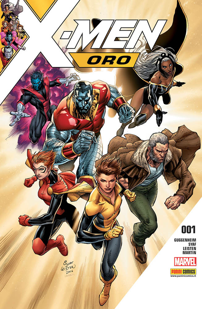 X-Men Oro 1 Gli Incredibili X-Men 329