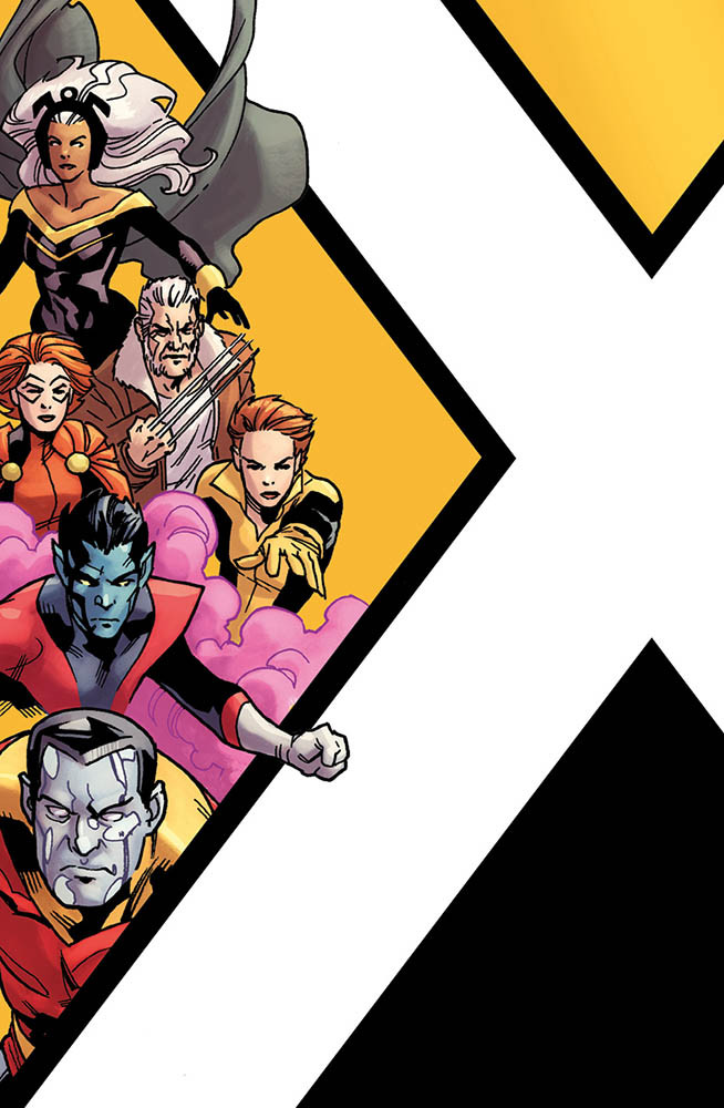 X-Men Oro 1 Variant Cornerbox Gli Incredibili X-Men 329