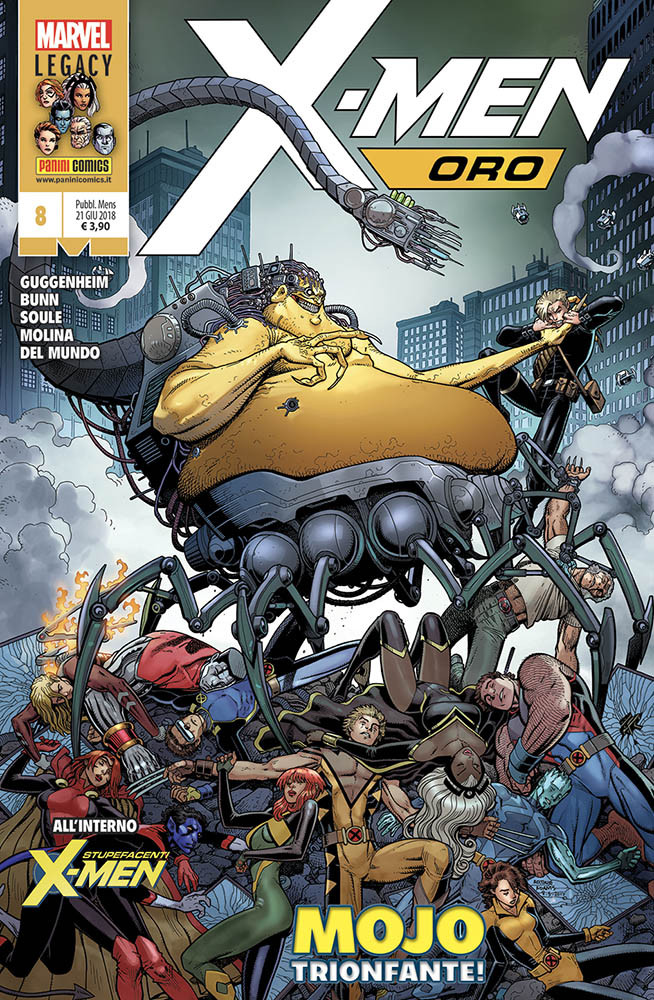X-Men Oro 8 Gli Incredibili X-Men 336