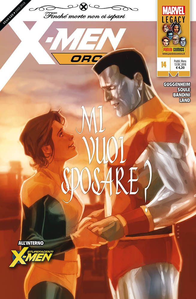 Incredibili X-Men 342 X-Men oro 14