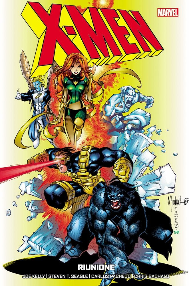 X-Men di Seagle & Kelly 2 Rimpatriata
